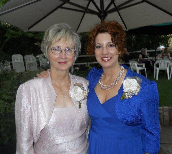 My beautiful mother, Sharon.
