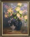 Blue Vase Floral