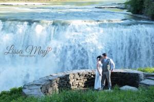 wedding.waterfall